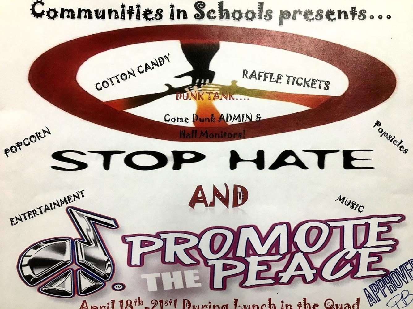 The+Stop+Hate+And+Promote+Peace+Campaign+Helps+Cheyenne+Students+Unwind%21