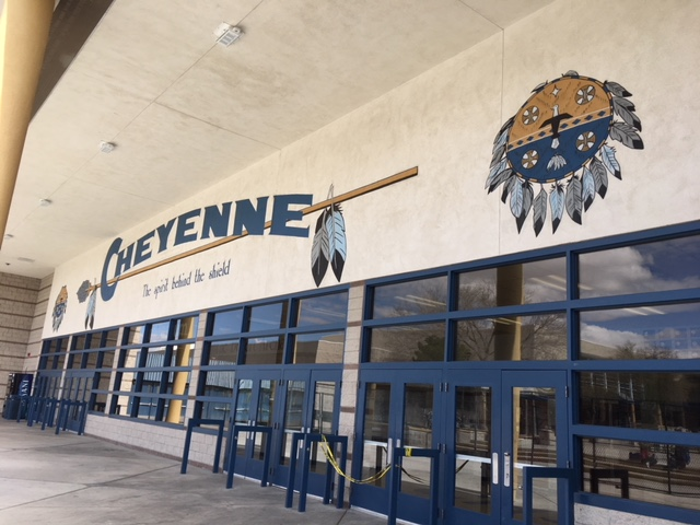 Title I Funding Improves Cheyenne High School!!!